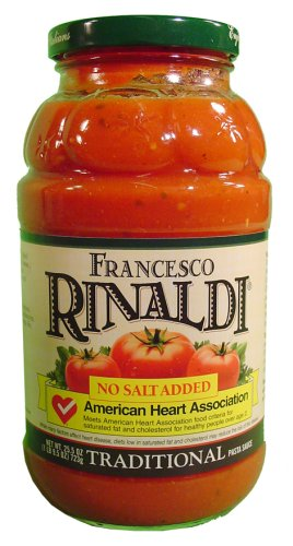 Francesco Rinaldi No Salt Added Pasta Sauce-23.5 oz. (Pasta Sauce Low Sodium compare prices)