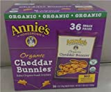 Annies Homegrown Organic Cheddar Bunnies - 36 Count Snack Pack