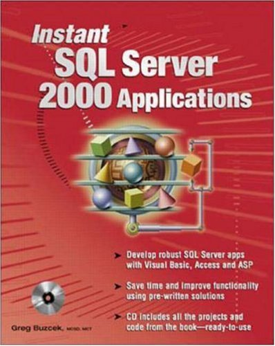 Instant SQL Server 2000 Applications