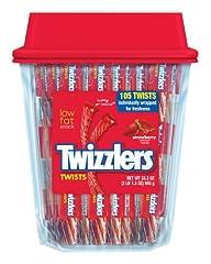 TWIZZLERS Twists (Strawberry, 105-Count)