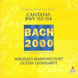 Bach 2000 (Kantaten BWV 112-114)