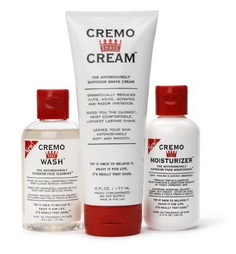 Cremo Cream - Shave Cream, Face Wash & M