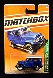 '68 TOYOTA LAND CRUISER * BLUE * Jungle Explorers Series (#1 of 6) MATCHBOX 2010 Basic Die-Cast Vehicle (#95 of 100)