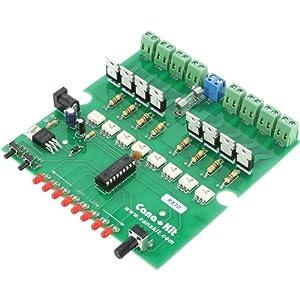CanaKit UK570 - 8-Channel / 20-Program AC Light Chaser / Controller (Assembled Module)