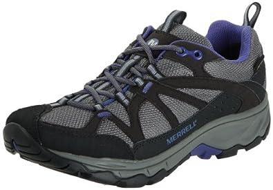 Merrell Womens Calia Gore Tex Trekking and Hiking Shoes J56382 Black (4 UK)