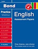 Bond English Assessment Papers 5-6 Years Sarah Lindsay