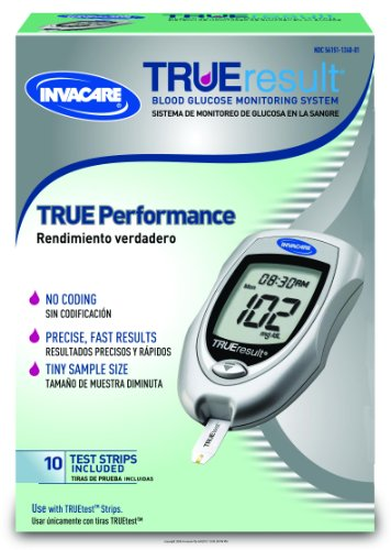 "Cheap Invacare TRUEresult Blood Glucose Monitoring System [""IB TRUE RESULT STARTER KIT] EA/1 (B008IUAHVQ)"