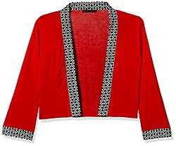 Fusion Beats Women's Shrug (E515SHRG05M RED_XXL)