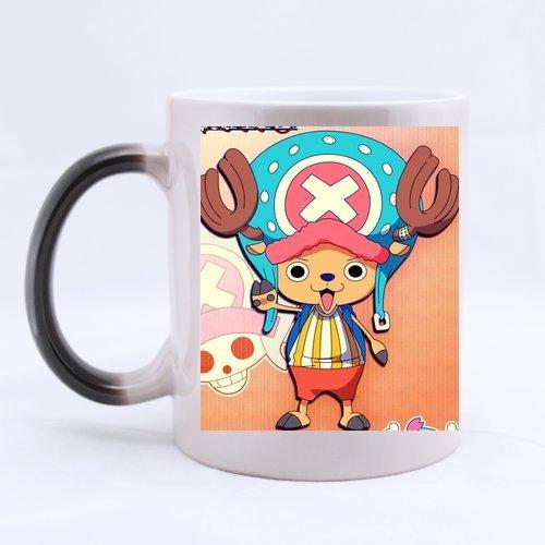 CozyHome One Piece Chopper After Timeskip Custom tea coffee cup Morphing mug (One Piece Chopper Mug compare prices)