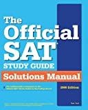 img - for The Official SAT Study Guide Solutions Manual book / textbook / text book