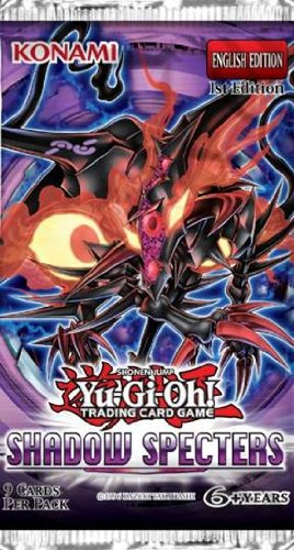YuGiOh Shadow Specters English 1st Ed Booster Pack - 1