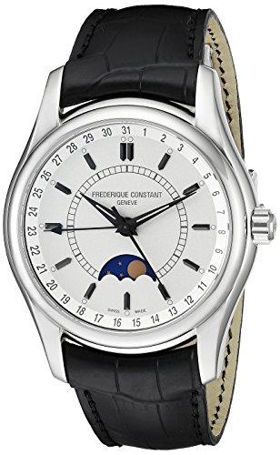 Frederique Constant FC-330S6B6 - Reloj de pulsera hombre, piel, color negro