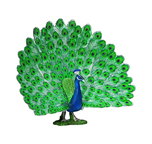 Peacock Toy Plastic Figure<br>Schleich