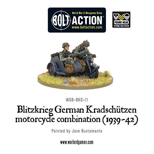 WGB-BKG-11 Blitzkreig German: Kradschutzen Motorcycle Combination (1939-42)