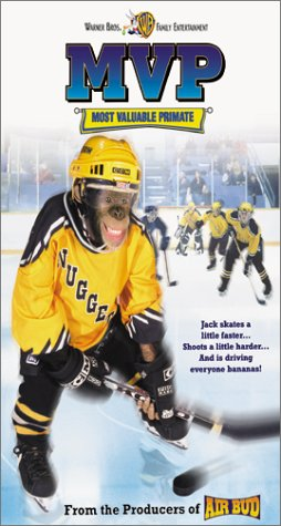 mvp-most-valuable-primate-vhs-import-usa