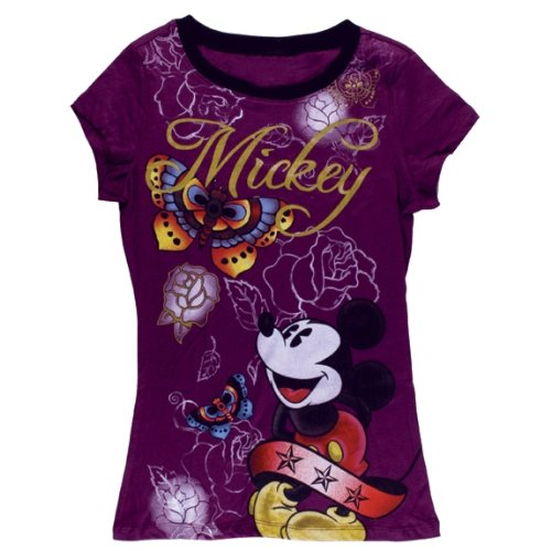 Disney - Mickey Mouse - Tattoo Ladies T-Shirt
