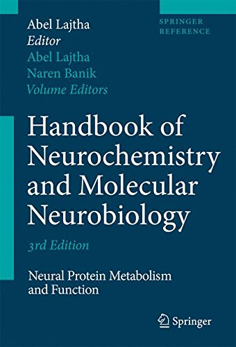Handbook of Neurochemistry and Molecular Neurobiology: Neural Protein Metabolism and Function (Springer Reference)