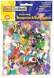 Creativity Street Sequins & Spangles