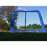 RAPID FIRE TORNADO Compact Mini 32x32 Baseball Rebound Pitchback Net - Amazing training... by Net World Sports