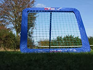 RAPID FIRE TORNADO Compact Mini 32x32 Baseball Rebound Pitchback Net - Amazing... by Net World Sports