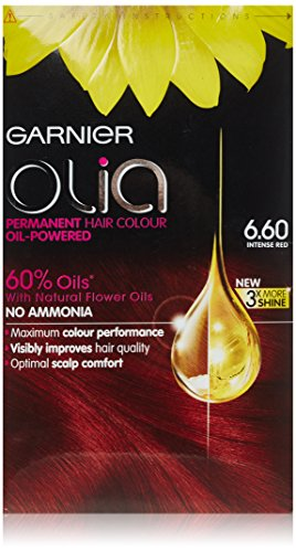 Garnier Olia Permanent Hair Colour 6.60 Intense Red (Hair Color Olia compare prices)
