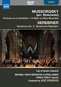 Mussorgsky/Stokowski: Pictures at an Exhibition; A Night on Bare Mountain & Serebrier: Symphony No. 3 'Symphonie Mystique'