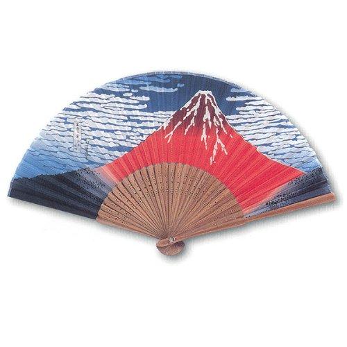 Japanese Folding Fan(Ukiyoe picture) - 1