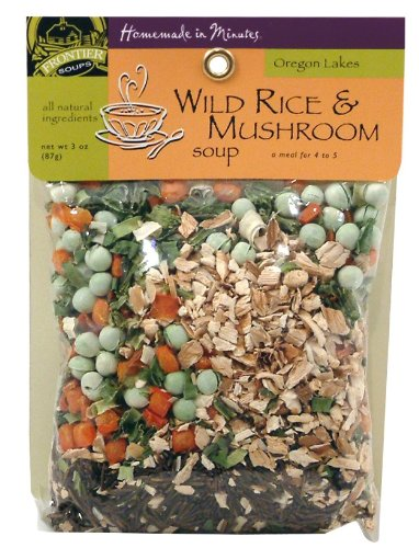 Frontier Soups Homemade In Minutes Oregon Lakes Wild Rice & Mushroom Soup,3.75-Oz  Bags (Pack of 4) (Rice Soup Seasoning compare prices)