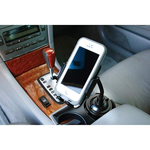 Adjustable Car Cup Holder Phone Mount - Hands Free Phone - Universal Cup Holder (2007 Toyota Yaris Trunk Liner compare prices)