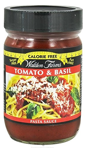 Walden Farms Garlic & Herb Pasta Sauce / Pasta Sauce Alfredo / Pasta Sauce Tomato and Basil 12 fl oz (Tomato and Basil)