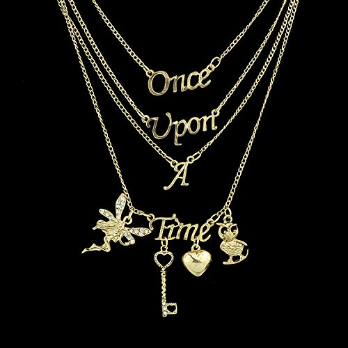 FEELONTOP® 2015 New Body Chain Jewelry Fashion Jewelry Collares Vintage Steampunk Alloy Letter Butterfly Necklace for Women (Steam On Letters compare prices)