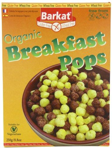 Barkat Gluten Free Organic Breakfast Pops 250 g (Pack of 3)