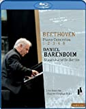 Beethoven Piano Concertos 1, 2, 3, 4, 5 – Daniel Barenboim [Blu-Ray]