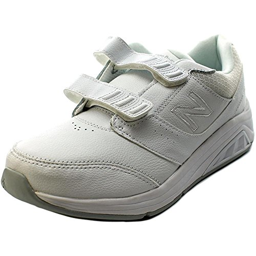 New Balance WW928 Femmes Large Cuir Baskets