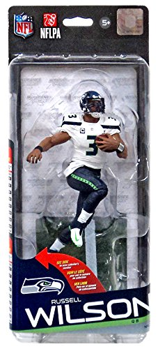 McFarlane Toys NFL Seattle Seahawks Sports Picks Series 35 Russell Wilson Action Figure [Super Bowl Jersey] (Nfl 35 Russell Wilson compare prices)