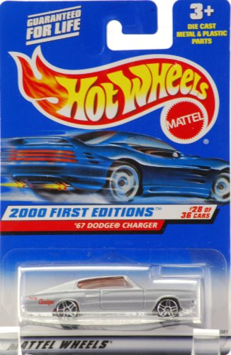 Hotwheels 2000 First Edition `67 Dodge Charger #28of 36