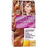 L'Oréal Paris Casting Creme Gloss Pflege-Haarfarbe, 834 Kupfergoldblond