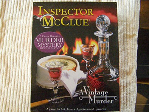 Murder Mystery Dinner Party Game: A Vintage Murder - Jeu d'enquête (Import Grande Bretagne)
