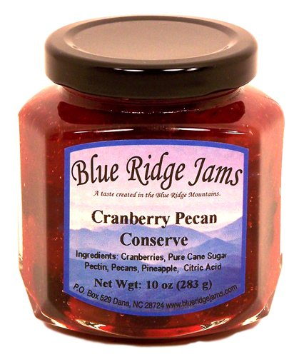 Cranberry Pecan Conserves, Set of 3 (10 oz Jars)