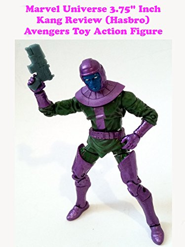 "Marvel Universe 3.75"" KANG review (Hasbro) Avengers toy action figure"