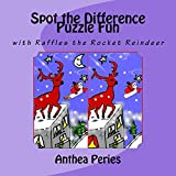 Spot the Difference Puzzle Fun: with Raffles the Rocket Reindeer