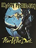 IRON MAIDEN IRON MAIDEN RÃCKENAUFNÃHER / BACKPATCH #5 FEAR OF THE DARK