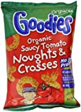 Organix Goodies Saucy Tomato Noughts and Crosses from 12 months 6 x 15g Bags