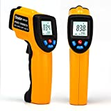 Peralng® Laser Infrarot Thermometer -50~380°C IR Infrarot Digital Temperature Berührungslose
