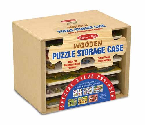 Picture of Fun Melissa and Doug Pre-Packed Peg Puzzle 6 Piece Set (B0036VHKQC) (Pegged Puzzles)