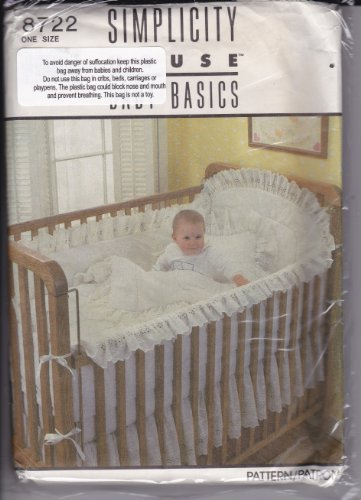 Simplicity 8722 (One Size), Baby Basics front-224287