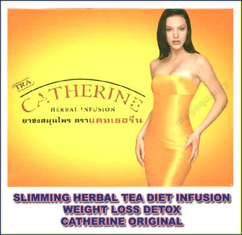 Slimming Herbal Tea Diet Infusion Weight Loss Detox Catherine Original Best Product From Thailand