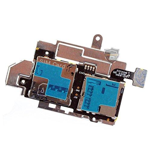 Sim Micro SD Fach Flex Kabel Karte Schacht mit Rahmen Slot für Samsung Galaxy S3 i9300