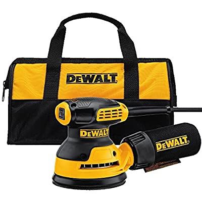 "DEWALT DWE6421K Random Orbit Sander Kit, 5"" from DEWALT"