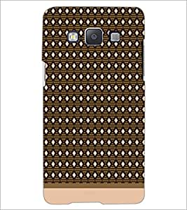 PrintDhaba Pattern D-1573 Back Case Cover for SAMSUNG GALAXY E5 (Multi-Coloured)
